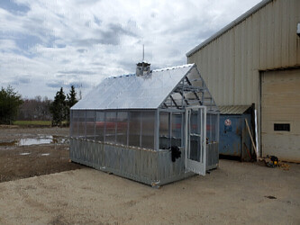 CUSTOM GREENHOUSE MADE TO REQUIREMENTS
